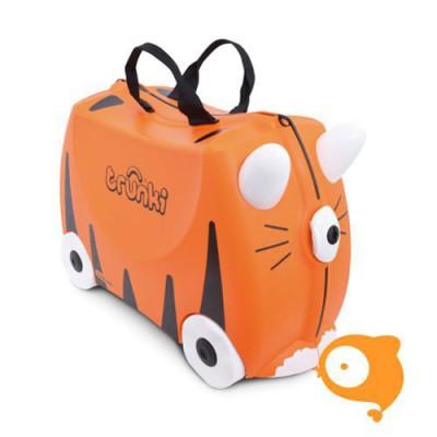 Trunki - Kinderkoffer ride-on tijger
