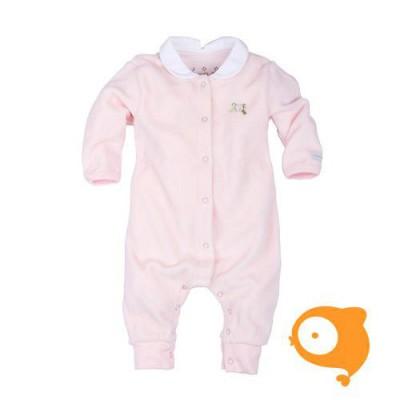 Claesen's - Newborn kruippakje lange mouwen baby roze