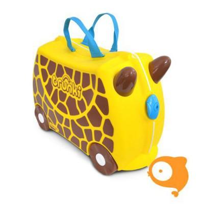 Trunki - Kinderkoffer ride-on giraf