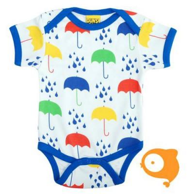 Duns - Body korte mouwen - Umbrella white