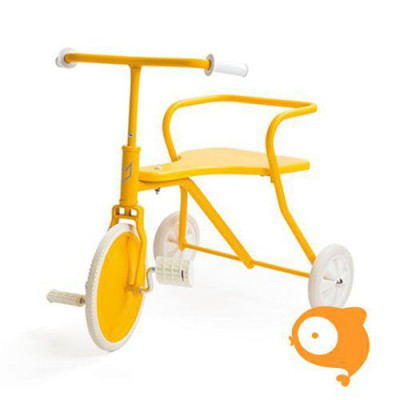 Foxrider - Driewieler geel - yellow sun - limited edition