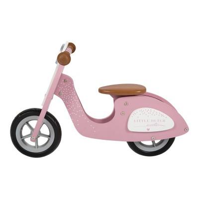 Little Dutch - Scooter hout - pink