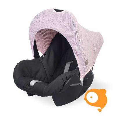 Jollein - Zonnekapje maxi-cosi confetti knit vintage pink
