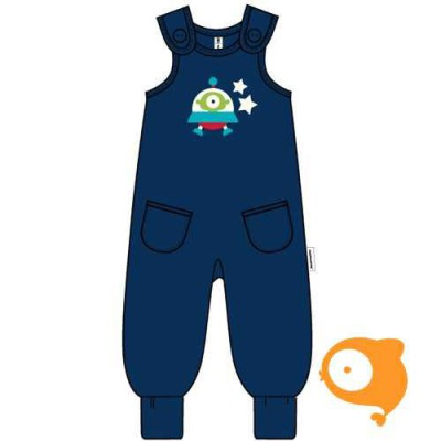 Maxomorra - Playsuit embroid spaceship