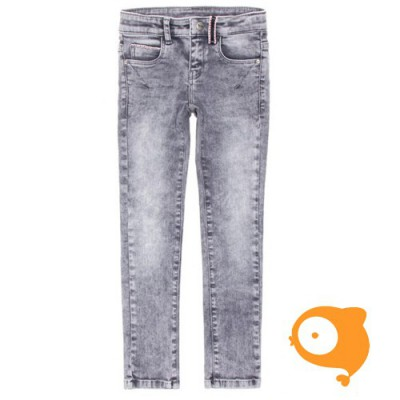 BOOF - Solar wash grey slim fit stretch denim