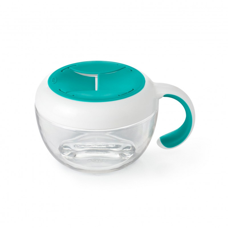 OXO tot - Flippy snackdoosje - teal
