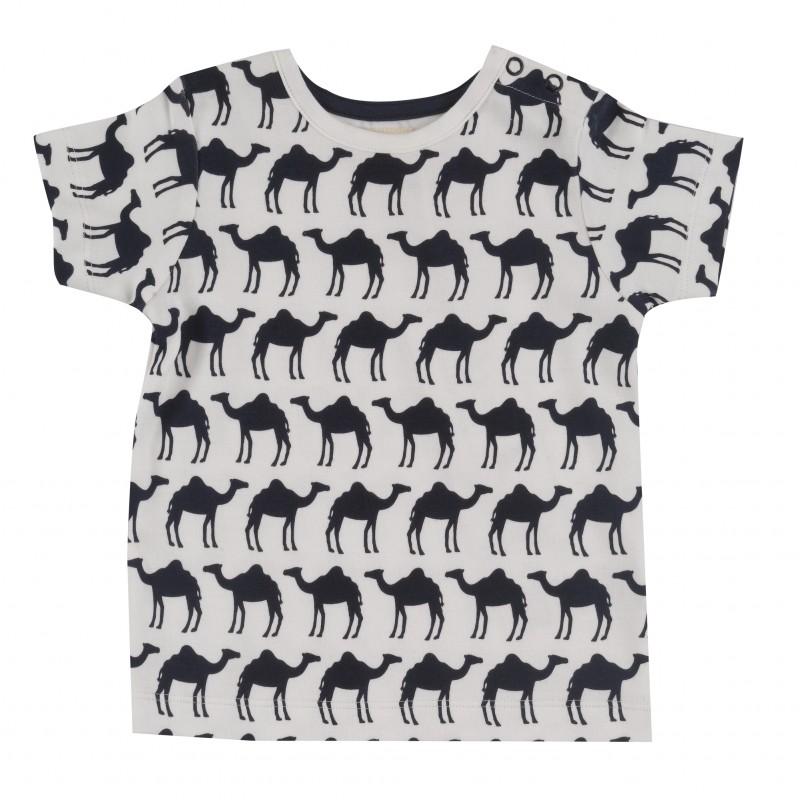 pigeon - T shirt kameel navy