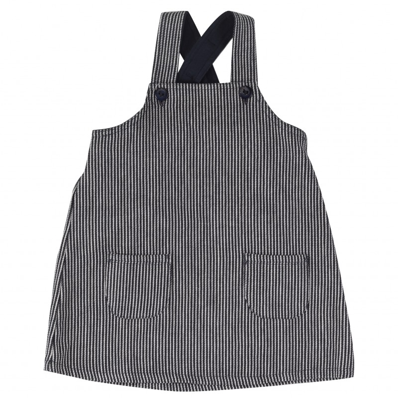 Pigeon - Apron dress Navy