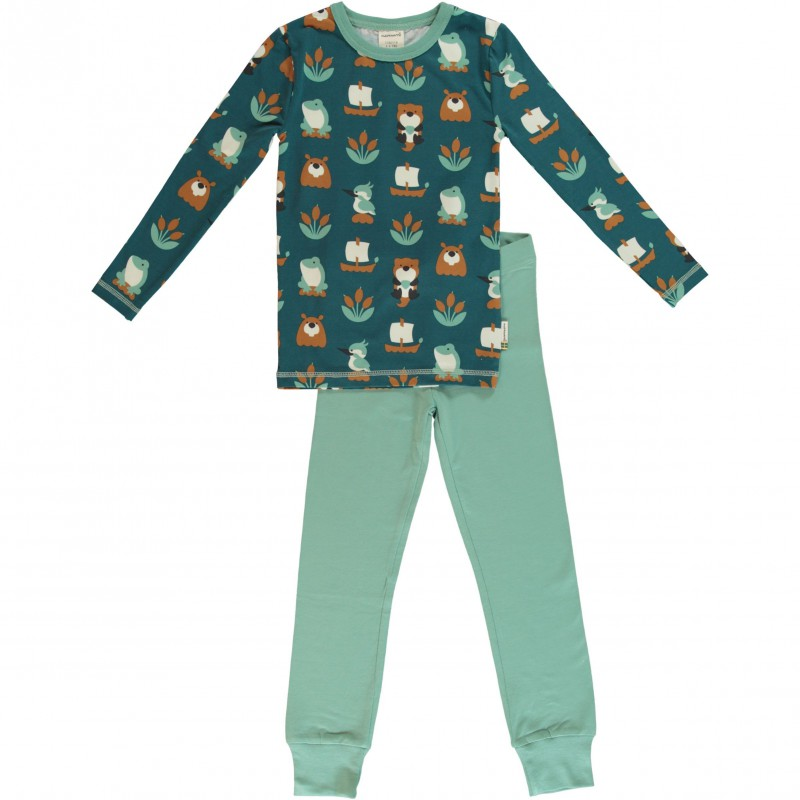 Maxomorra  - Pyjama Set LS Lake life
