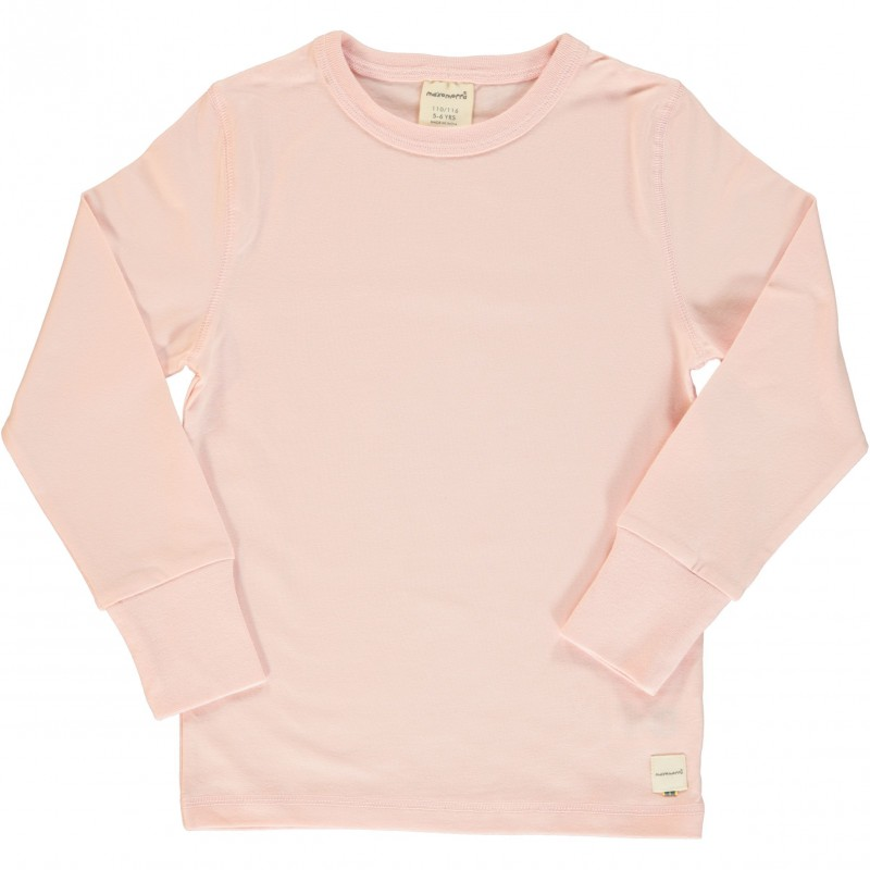 Maxomorra - Longsleeve LS Solid Pale Blush