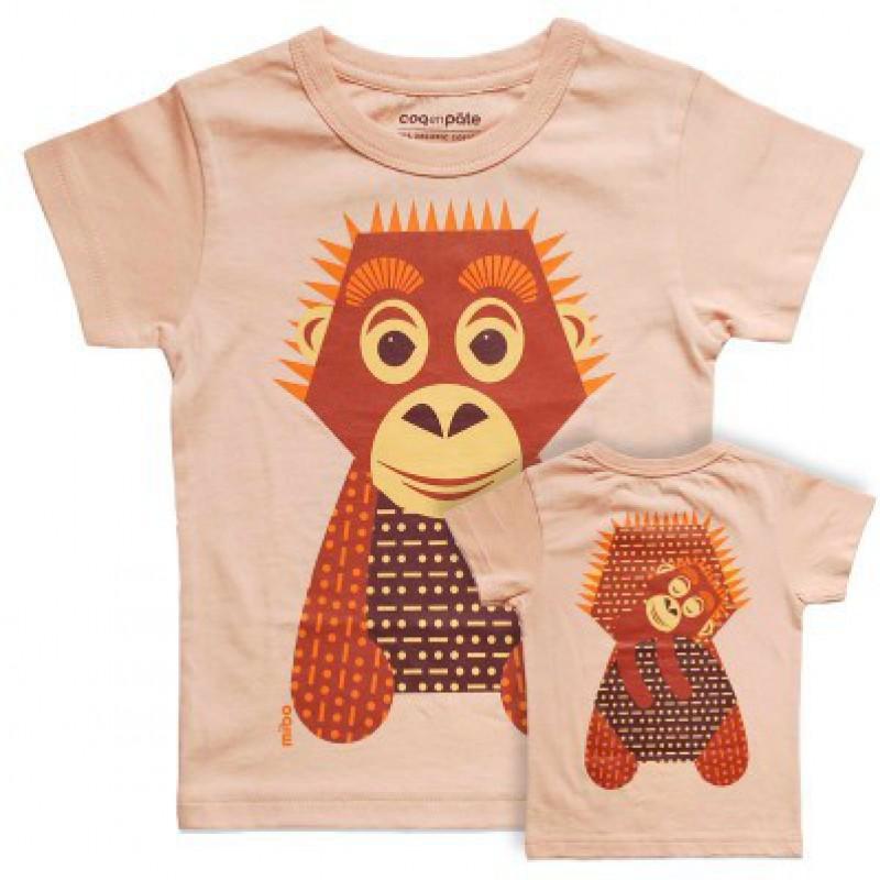 Coq en Pâte - T-shirt orang-oetan
