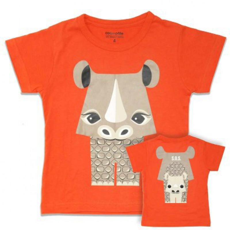 Coq en Pâte - T-shirt neushoorn