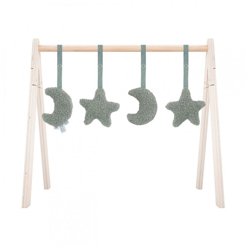 Jollein - Babygym toys Moon ash green
