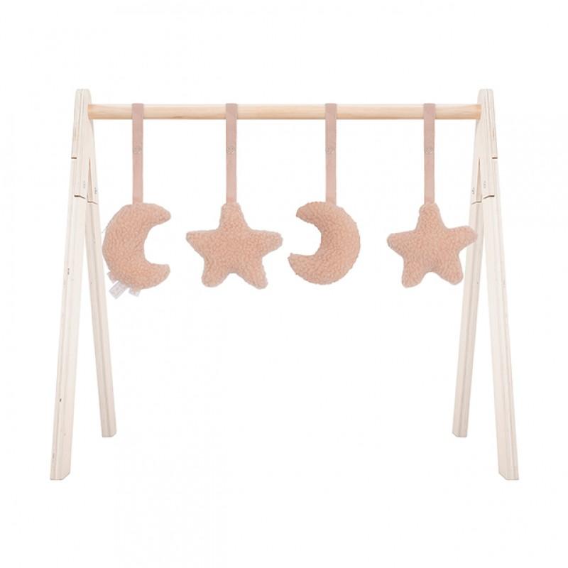 Jollein - Babygym toys Moon pale pink
