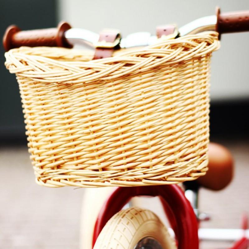 Trybike - rieten fietsmandje