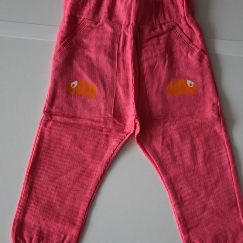 Mini Cirkus - Hot pink corduroy pants