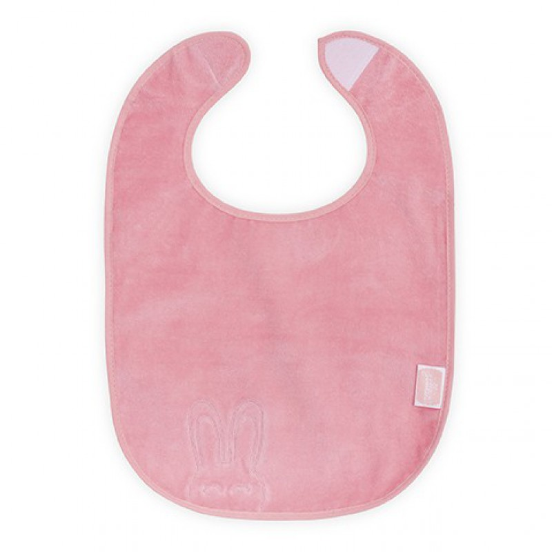 Jollein - slab waterproof velvet terry Sweet bunny coral pink