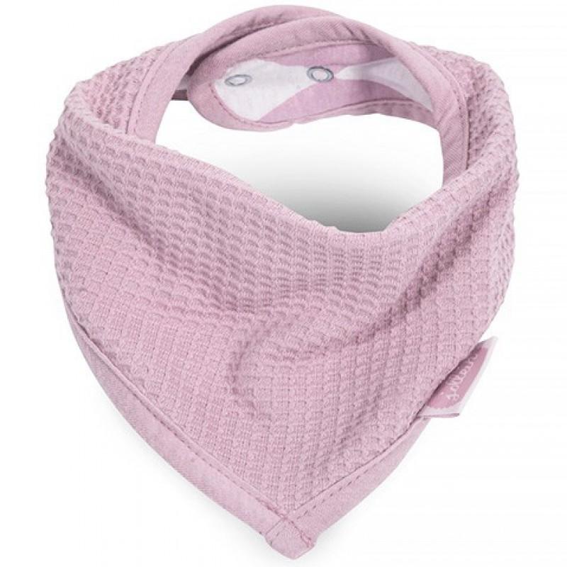 Jollein - slab bandana Mini waffle vintage pink