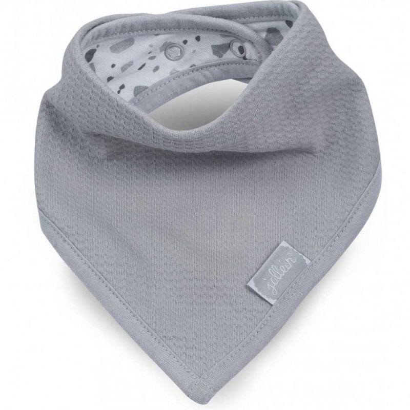 Jollein - slab bandana Tiny waffle soft grey