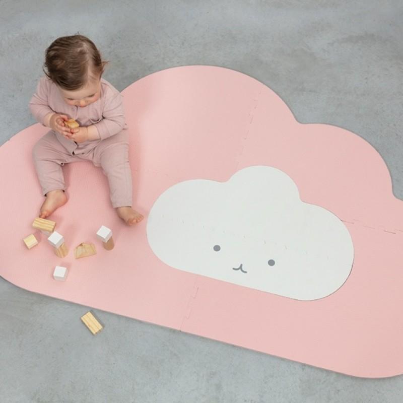Quut - Speelmat Head in the clouds - Small Blush Rose
