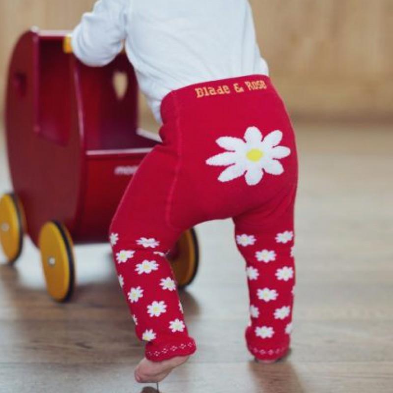 Blade&Rose - Legging red daisy