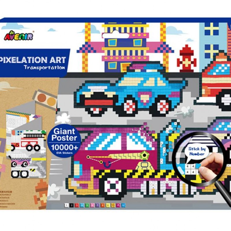 Avenir - Pixelation - Transport
