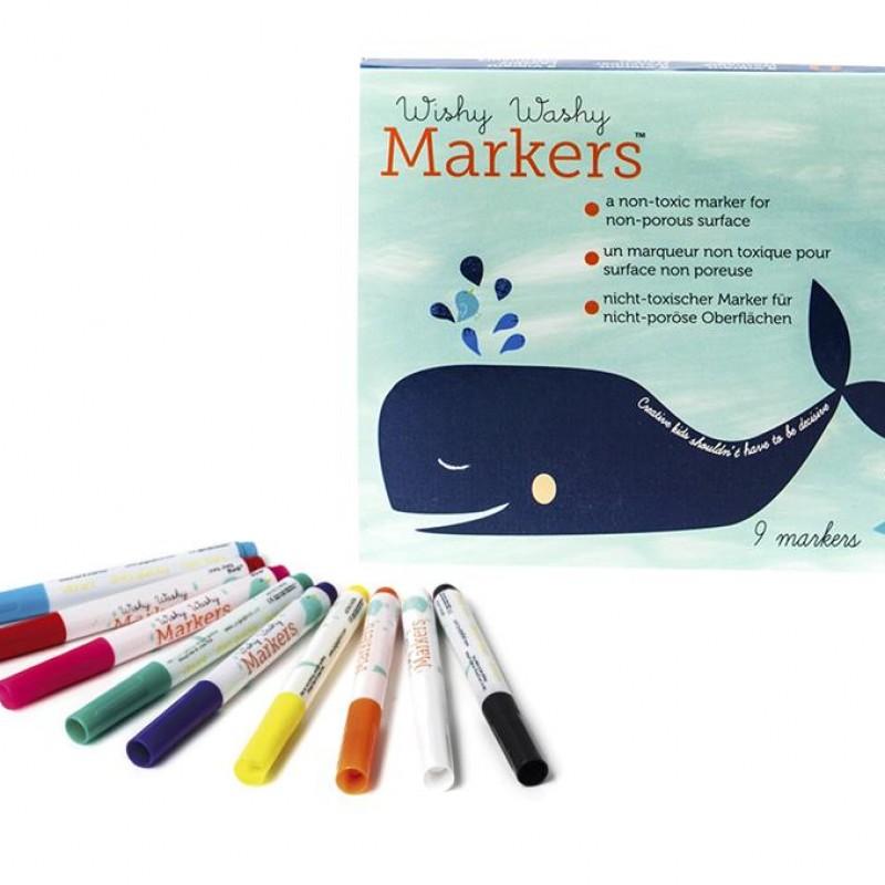 Jaq Jaq Bird - Wishy Washy Markers