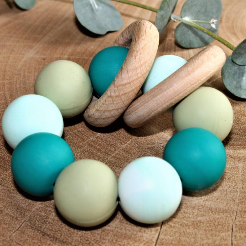 Liv's story - Bijtring multicolor blauw