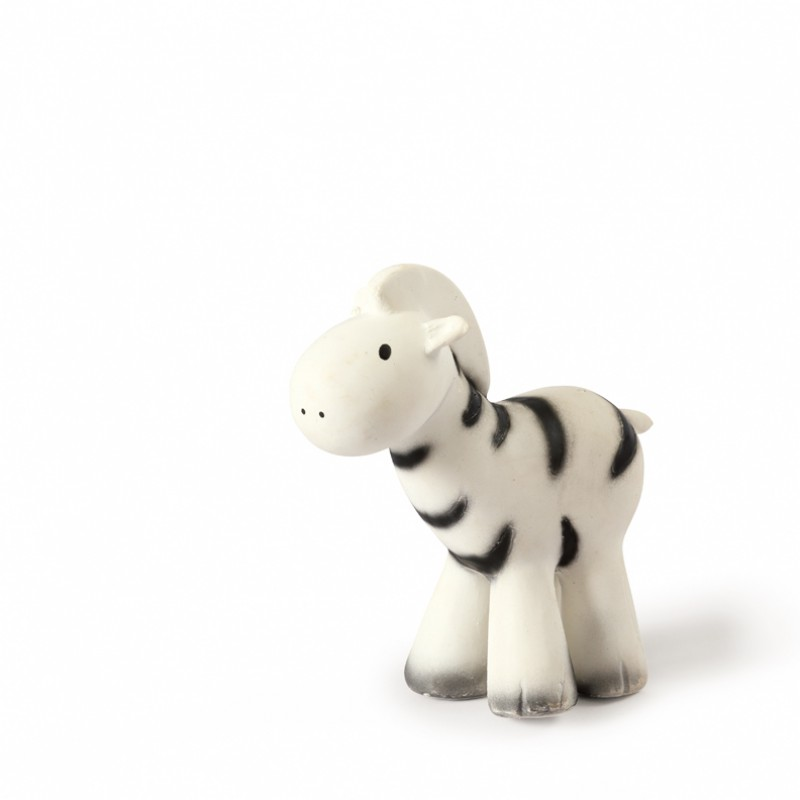 Tikiri - Bad- en bijtspeeltje met belletje - Zebra