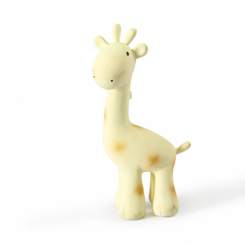 Tikiri - Bad- en bijtspeeltje met belletje - Giraf