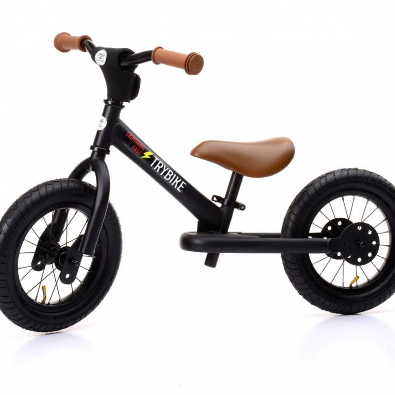 Trybike - steel loopfiets black