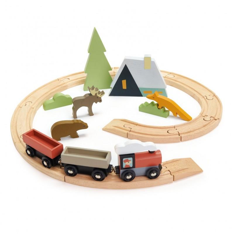 Tender leaf toys - treinenset 'Tree Tops'