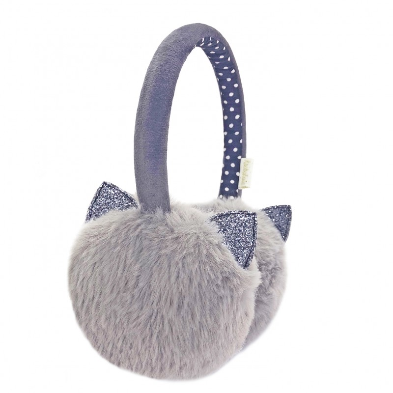 Rockahula - oorwarmers Clara Cat Grey