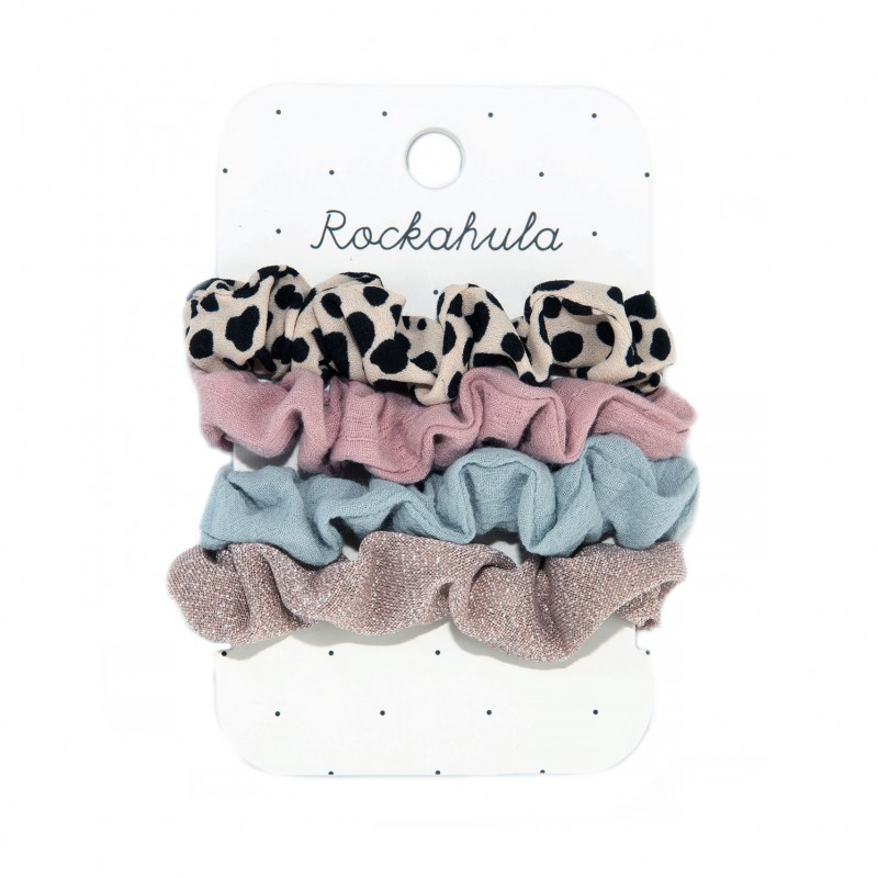 Rockahula - Lily Leopard scrunchie set