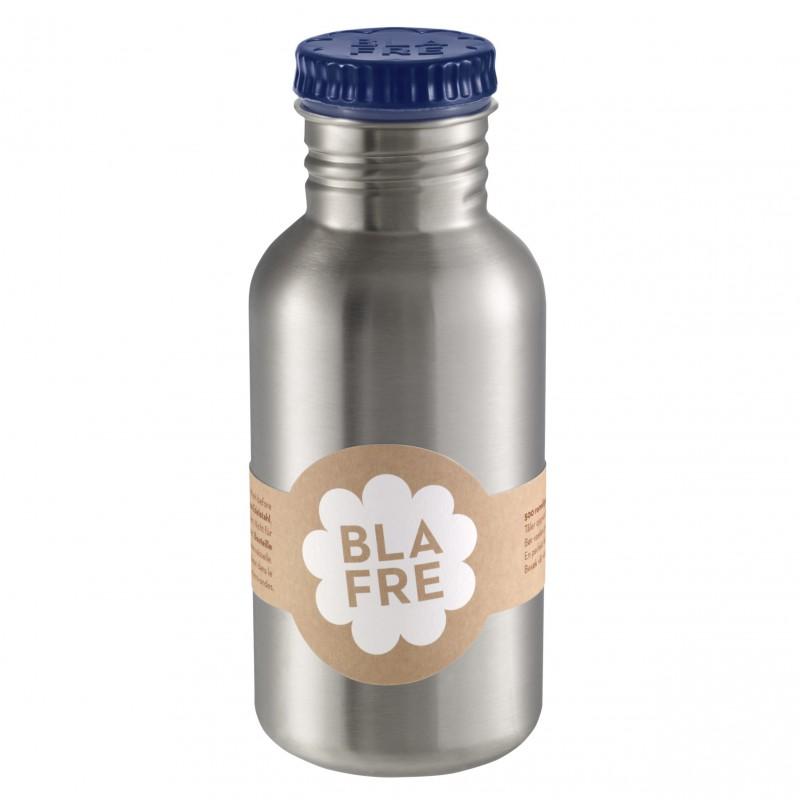 Blafre - steel bottle dark blue 500 ml