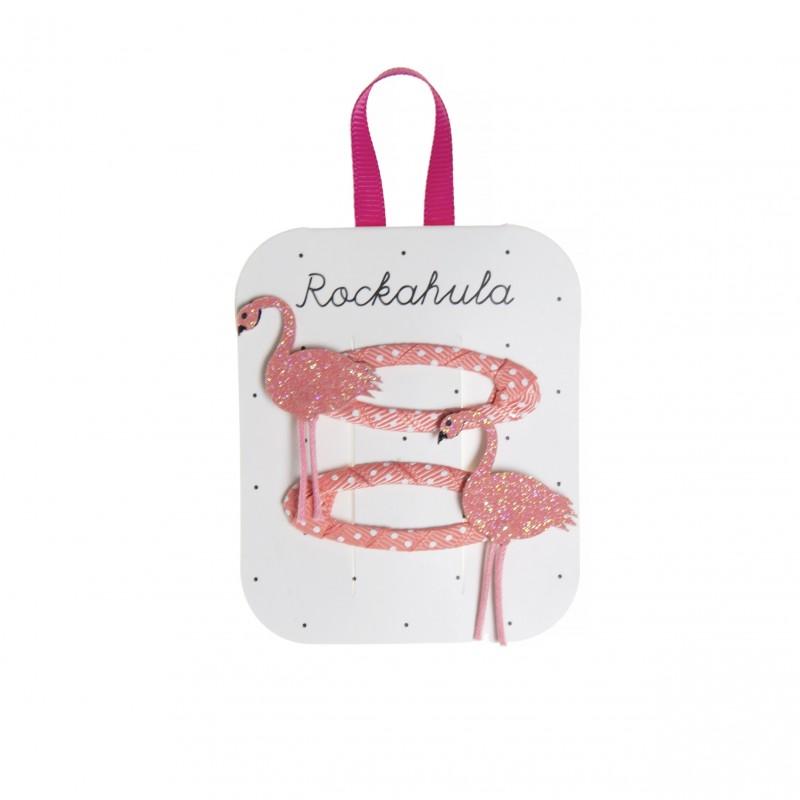Rockahula - Clips flamingo Florence glitter