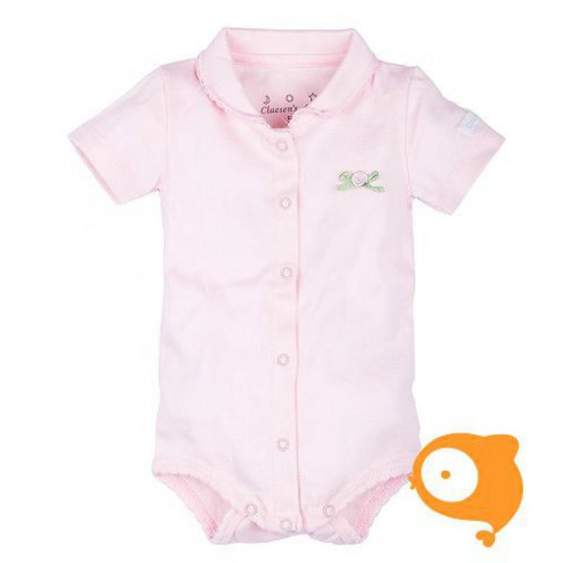 Claesen's - Newborn romper korte mouwen baby roze