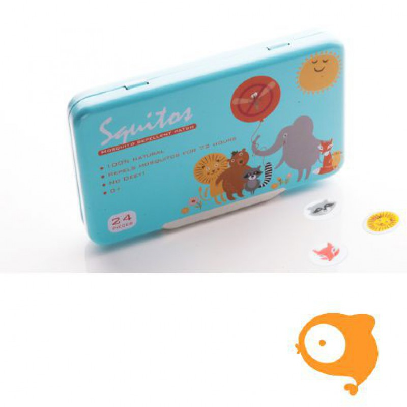 Squitos - Mugwerende stickers