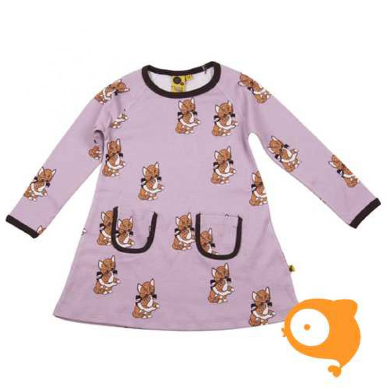 Krutter - Cat dress with pocket