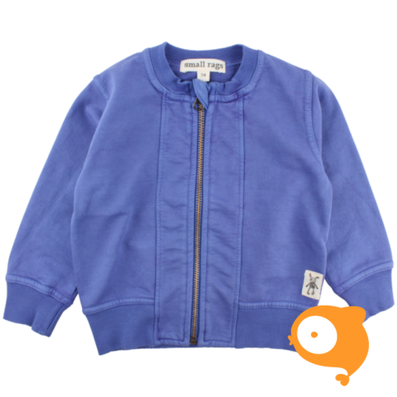 Small Rags - Eddy cardigan deep ultramarine