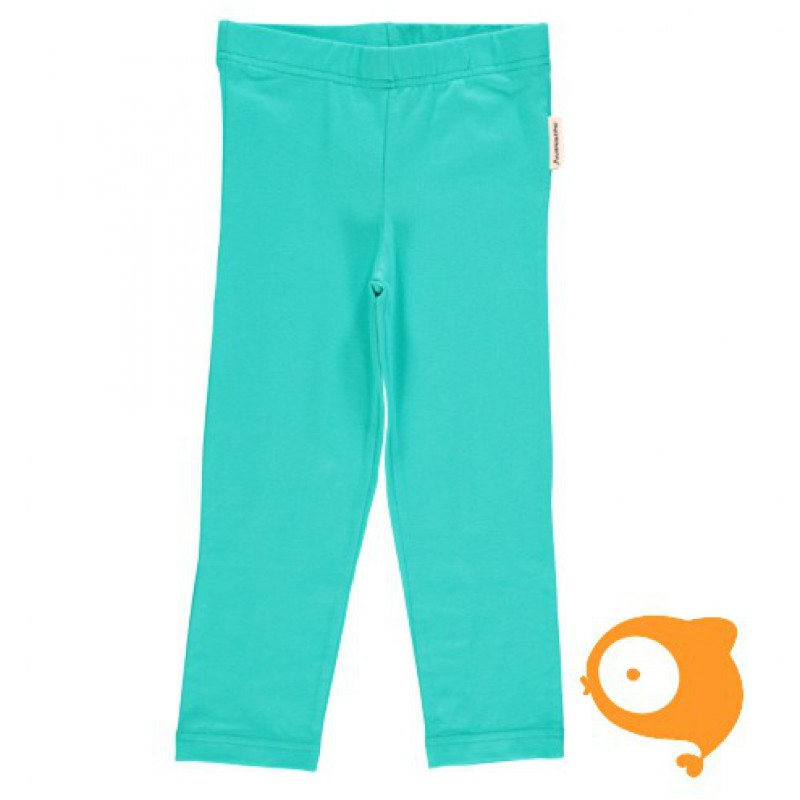 Maxomorra - Leggings cropped turquoise