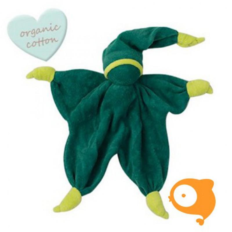 Peppa - Knuffeldoek Sisco groen/lichtgroen