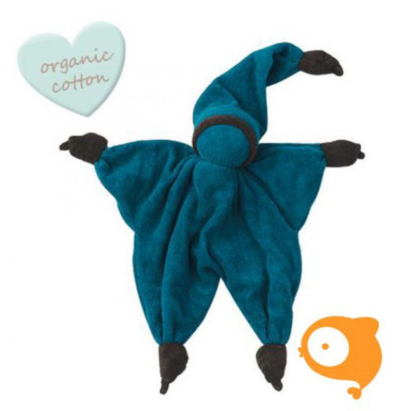 Peppa - Knuffeldoek Sisco blauw/bruin