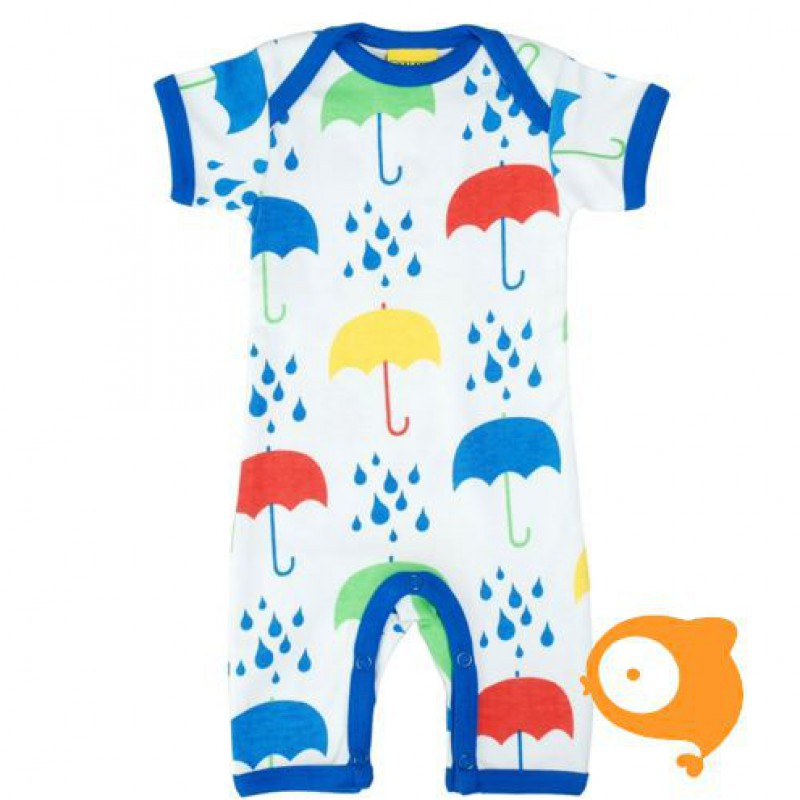 Duns - Bodysuit met korte mouwen - Umbrella white
