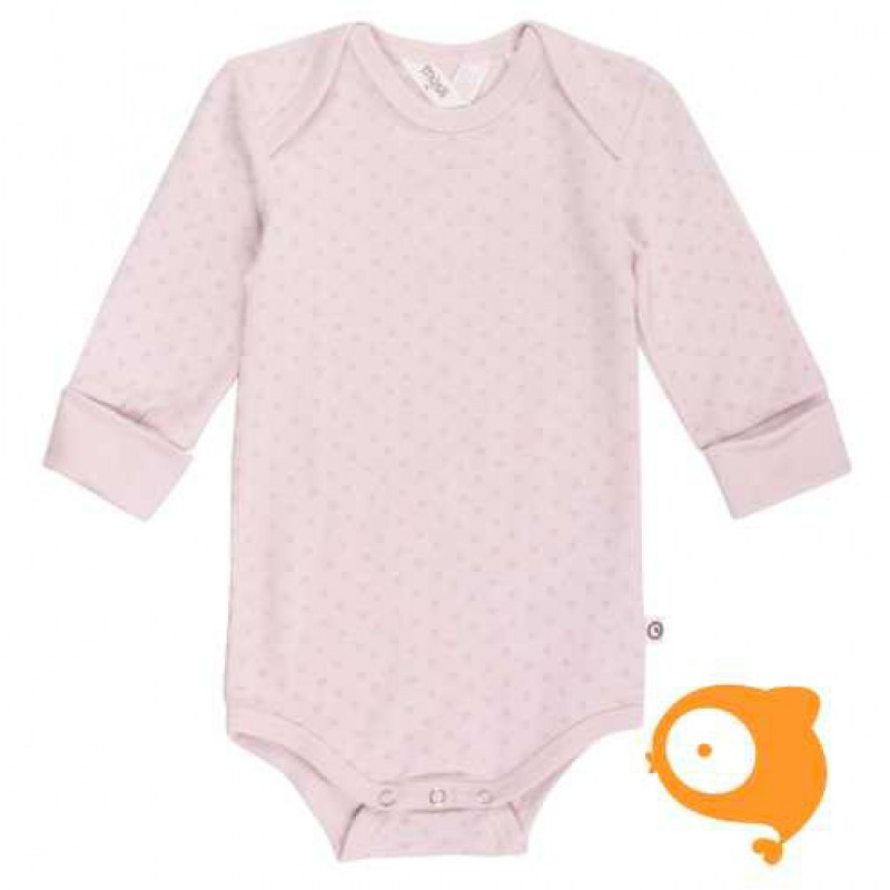 Müsli - Body cross longsleeve light rose