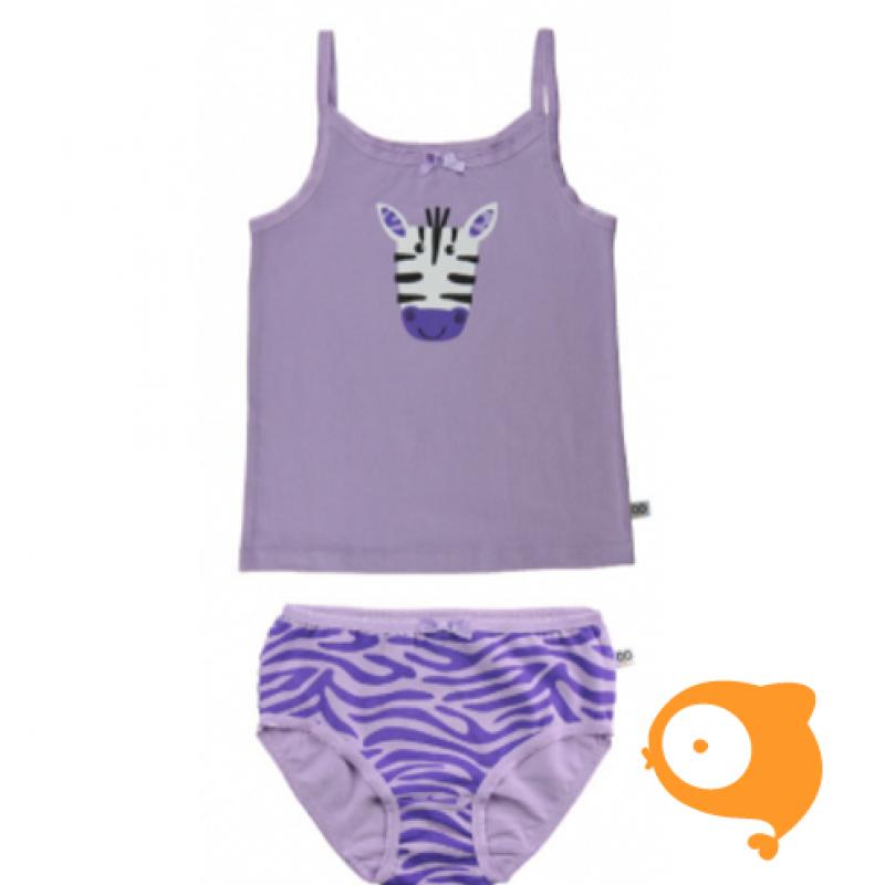 Zoocchini - Ondergoedset zebra paars MEISJE