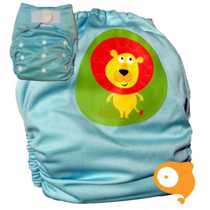 Pandababy - Uitwasbare zwemluier Leeuw (klittenband)