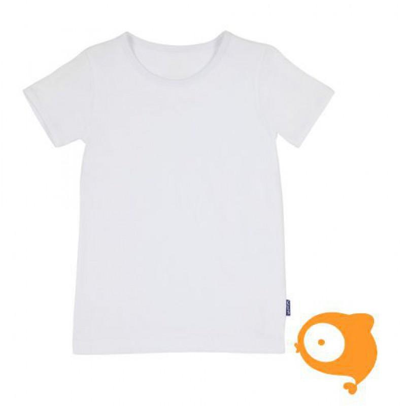 Claesen's - Set van 2 T-shirt voor jongens wit