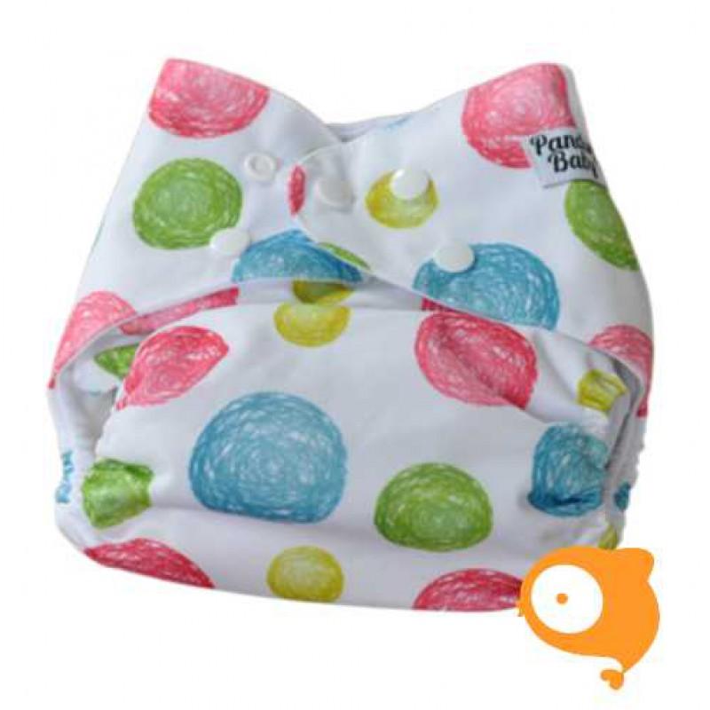 Pandababy - Uitwasbare zwemluier Bolletjes (drukkers)