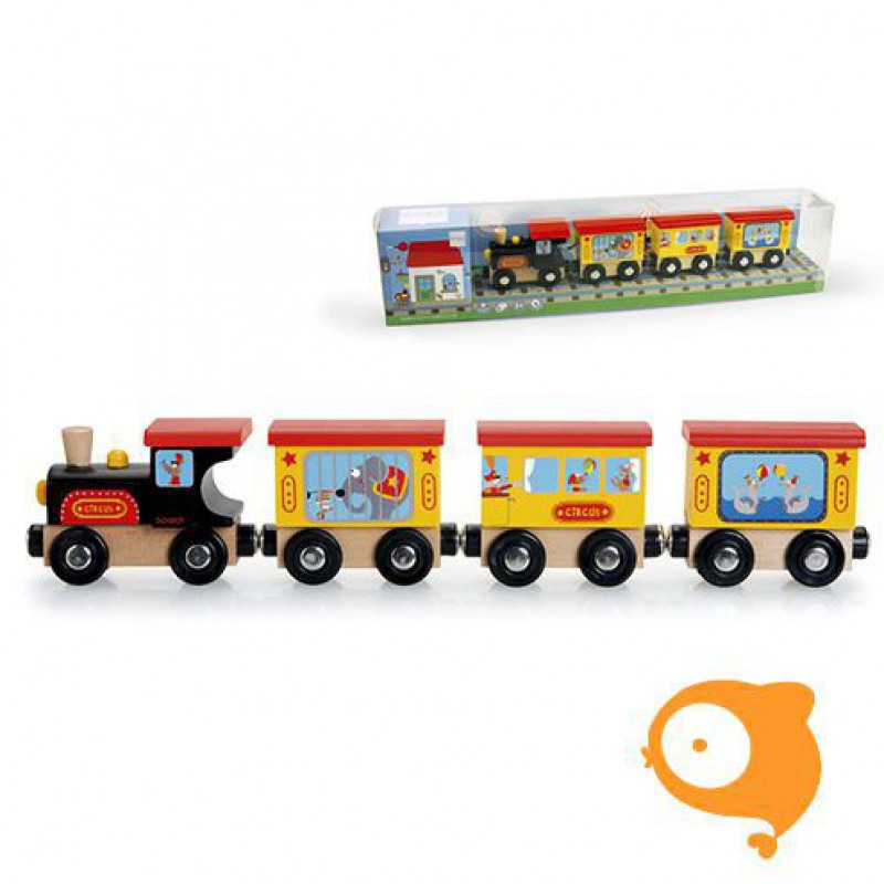 Scratch - Preschool: trein circus